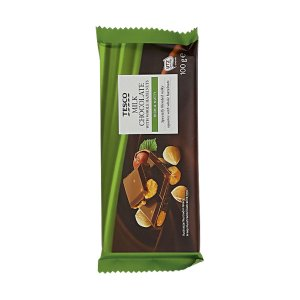 Tesco Milk Chocolate with Whole Hazelnuts