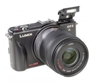 Panasonic Lumix DMC-GF2W Kit + G Vario 14-42mm