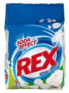 Rex Soda Effect White Rose