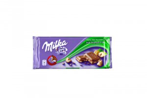 Milka Alpine Milk Chocolate, Hazelnuts
