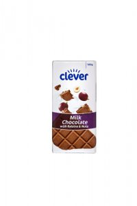 Billa Clever Milk Chocolate with Raisins & Nuts