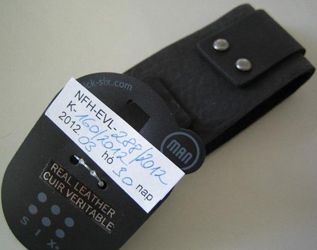 dTest  Pánský kožený náramek - nebezpečné výrobky 6c200c20fc4