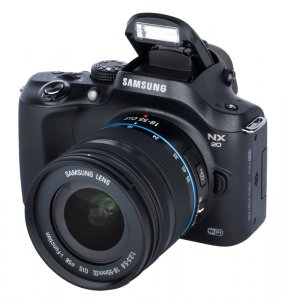 Samsung NX20 Kit + 18-55mm III OIS