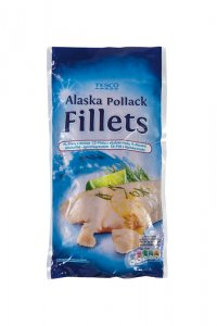 Tesco Alaska Pollack Fillets - filety z aljašské tresky