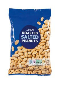 Tesco Roasted salted peanuts