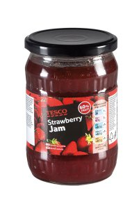 Tesco Strawberry Jam