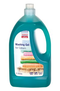 Tesco value Washing Gel for Colours