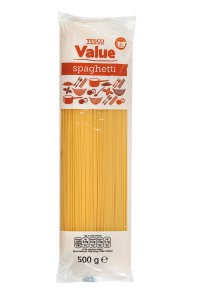 Tesco value Spaghetti