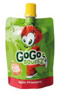 GoGo Squeez Fruit Snack Apple Strawberry