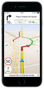 Navmii GPS: Navigation, Maps and Traffic (Navfree GPS) (iOS)