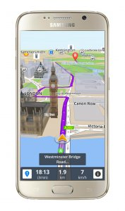 Sygic GPS Navigace a Mapy (Android)