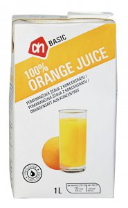 ah Basic 100% Orange Juice