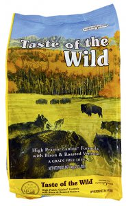 Taste of the Wild with Bison & Rosted Venison