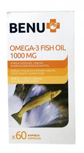 Benu Omega-3 Fish Oil