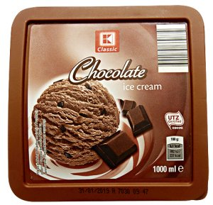 Kaufland/K-Classic Chocolate Ice Cream