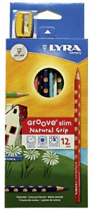 Lyra Groove Slim Natural Grip