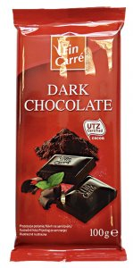 Lidl/Fin Carré Dark Chocolate