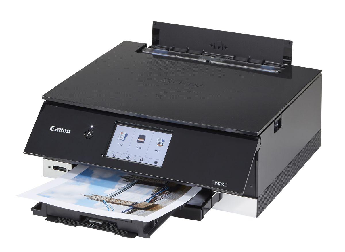 dTest  Canon Pixma TS8250 - výsledky testu tiskáren 66de93b9199